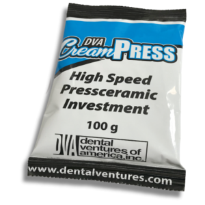 CreamPRESS High Speed Pressceramic Investment